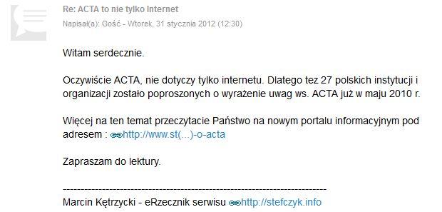 eRzecznik Stefczyk.info